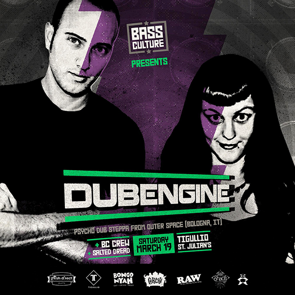 DUB ENGINE @ BASS CULTURE MALTA | DUB ENGINE